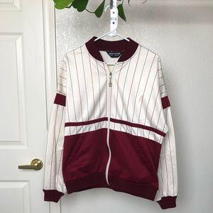 Pierre Cardin Jackets & Coats - Vintage Pierre Cardin Baseball Bomber Jacket